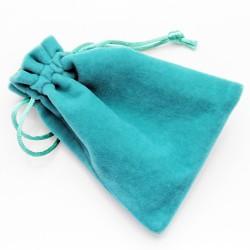 广州加厚高档绿色大号绒布袋束口抽绳饰品袋批发 可定制印LOGO 6066-9