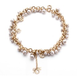 外贸大货定做 高档纯手工珍珠单排手链 手饰批发-笑颜 3224-369