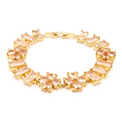 KELAKELA韩国个性锆石水晶手链 欧美出口 手饰品 支持混批2014747
