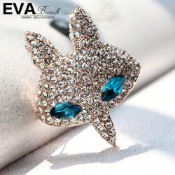 EVA颐娲 高端胸针品牌 动漫 满钻卡通头像 奥地利水晶 6357-82