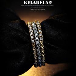 KELAKELA  个性简约时尚日韩版细戒指女指环食指尾指韩国饰品 K1013