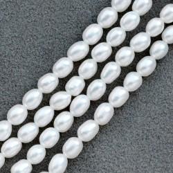 西凉妃子品牌 925纯银防过敏天然淡水珍珠项链 送妈妈礼物 X116-2800